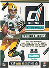 2016 Donruss NFL Football Unopened Retail Box of Packs with One GUARANTEED Blaster EXCLUSIVE Rookie Threads or Rookie Phenom Jersey MEMORABILIA Card in Every Box plus Possible Autographs
