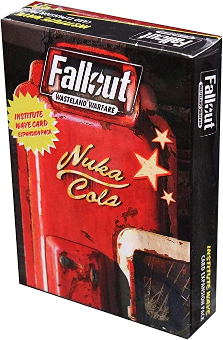 Amazon Com Modiphius Fallout Wasteland Warfare Institute Wave Card Pack Game Toys Games