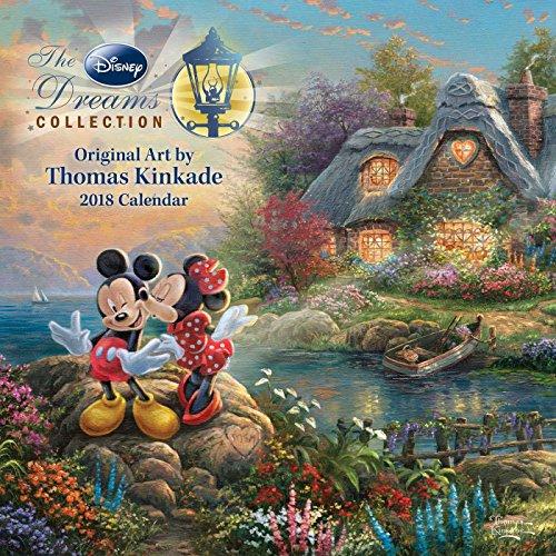 Thomas Kinkade: the Disney Dreams Collection 2018 Wall Calen
