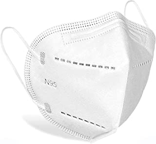 Luxyl N-95 5 Layer Double Meltblown Washable Reusable Unisex Face Masks | Pack of 100