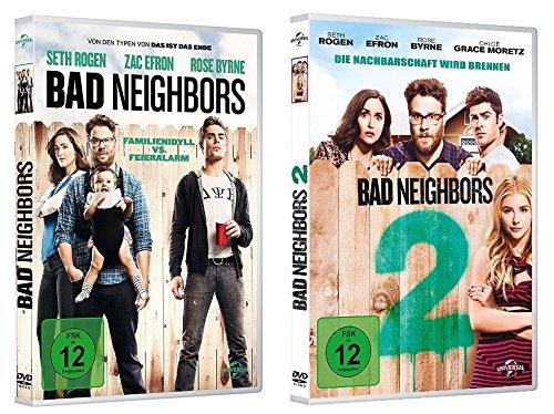 Bad Neighbors 1+2 im Set - Deutsche Originalware [2 DVDs]