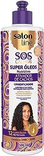 Ativador de Cachos S.O.S Cachos Óleo dos Sonhos 500ml, Salon Line