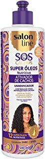 Linha Tratamento (SOS Cachos) Salon Line - Ativador De Cachos Nutritivo 500 Ml - (Salon Line Treatment (SOS Curls) Collection - Nourishing Curl Activator 16.91 Fl Oz)