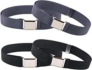 Kids Toddler Belts for Boys Girls,Adjustable Stretch Elastic Belt with Magnetic Buckle for Kids