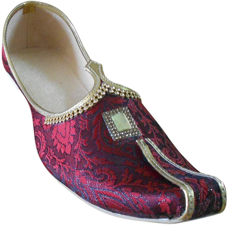 Kalra Creations Jutti Wedding Men shoes Sherwani Khussa Indian Loafers & Slip Ons Flat