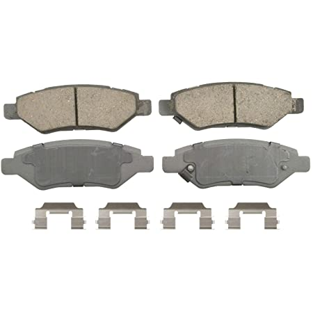 Rear Wagner QuickStop ZD1337 Ceramic Disc Pad Set