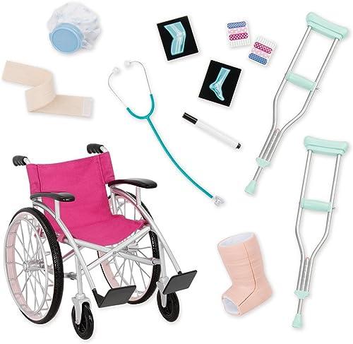 ventas en linea Our Generation Medical Juego con Silla Silla Silla de Ruedas, Color único, bd37432z  autentico en linea