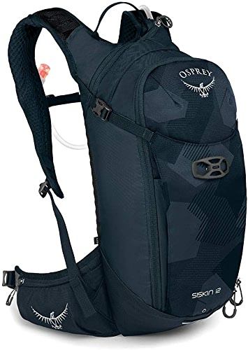 Osprey Siskin 12 Hydration Pack with 2.5L Hydraulics LT Reservoir Homme