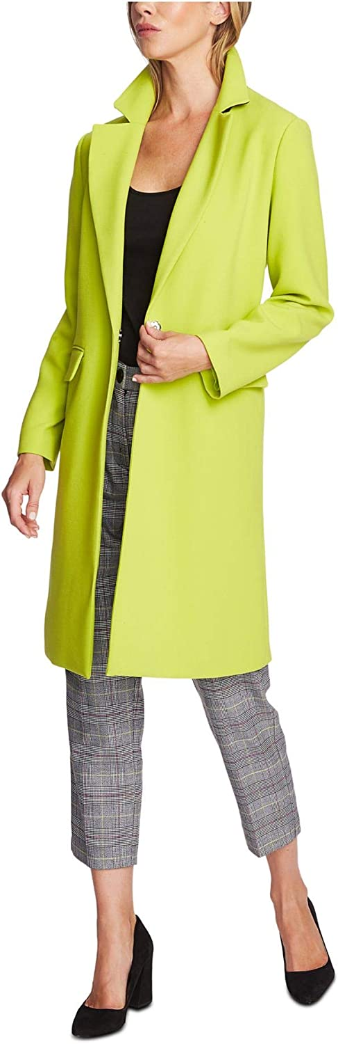 VINCE CAMUTO Womens Green Jacket Size 10