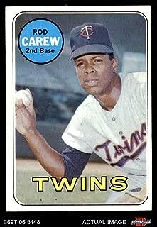 1969 Topps # 510 Rod Carew Minnesota Twins (Baseball Card) Dean's Cards 6 - EX/MT Twins