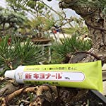 Kiyonal new bonsai pruning cutting paste 100g 11 japanese cutting paste for bonsai tree after pruning. It is essential bonsai tool from japan. Please apply kiyonal to the cut branch, limb, twig to protect cut end. Paste will last a very long time. Dries quickly and easy to apply.