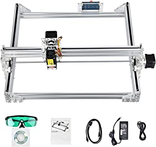Uttiny CNC Laser Engraver Kits, GRBL 7000MW 40x30cm 2 Axis Milling CNC Router Used As Wood Carving Machine for DIY Logo Engraving and CNC Cutting