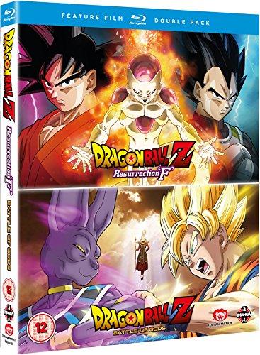 Dragon Ball Z: Battle Of Gods/Resurrection F [Blu-ray]