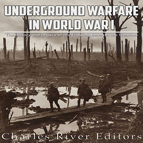 Underground Warfare in World War I audiobook cover art