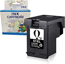 A1INK Refilled Ink Cartridge Replacement for HP 61 61XL 61 XL High Yield Use with HP Envy 4500 5530 5534 5535 Deskjet 2540 1000 1010 1512 1510 3050 Officejet 4630 2620 4635(1 Black)