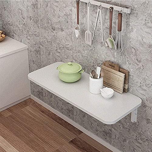 Wandmontierter Klapptisch Unsichtbarer Computertisch Haushalts-Drop-Blatt-Tisch Esstisch Kleine Space Kitchen Console-Studienschreibtisch-80 cm * 40 cm.