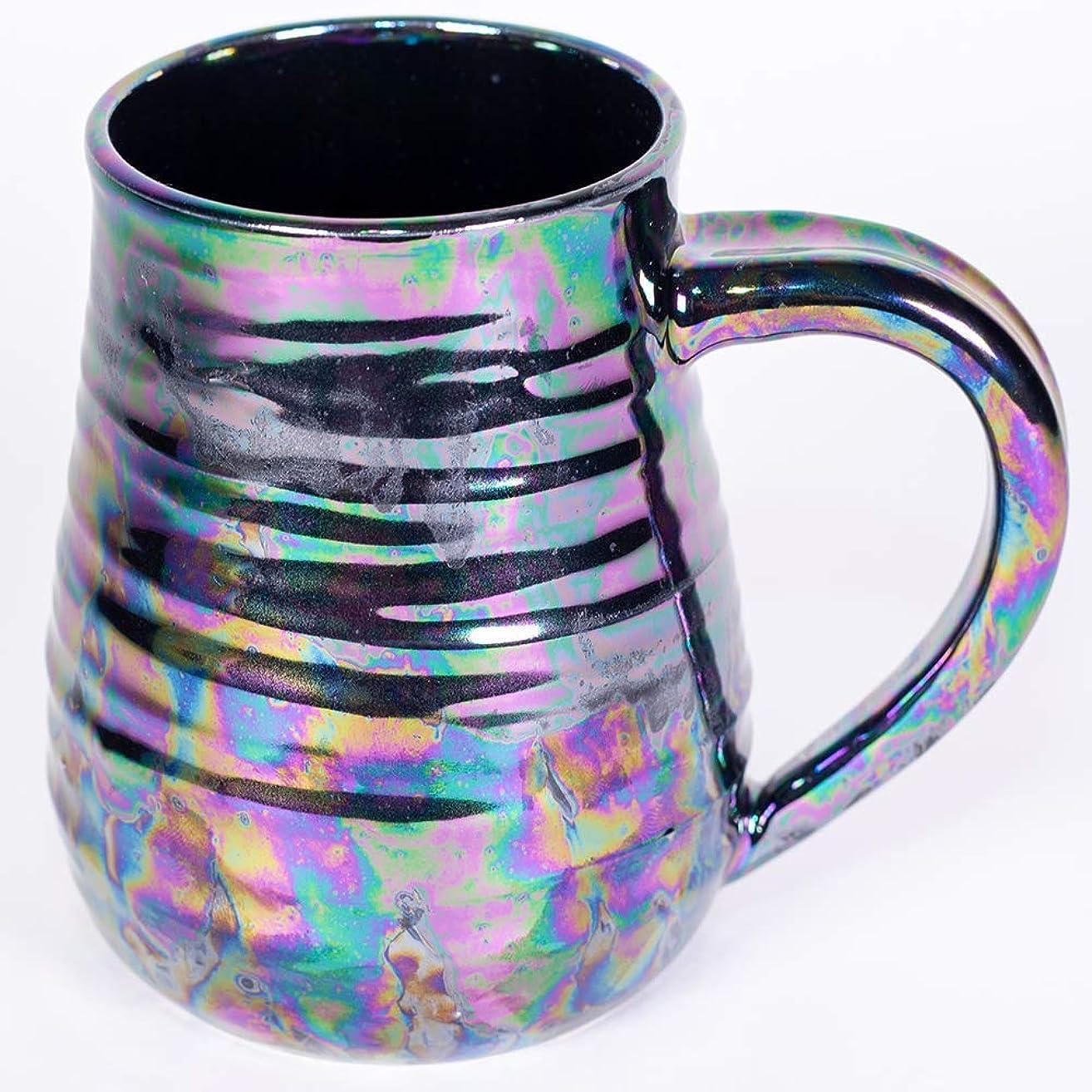 Black Pearl Handmade Pottery Mug