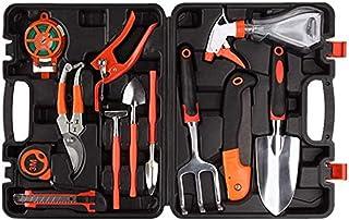 Gardening Kit Gift, 12 Pieces Garden Tools Set Hand Gifts Harrow Water Sprayer Anti-Rust Shovel Pruning Shears