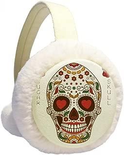 Universe And Alien Graffiti Alien Winter Earmuffs Ear Warmers Faux Fur Foldable Plush Outdoor Gift