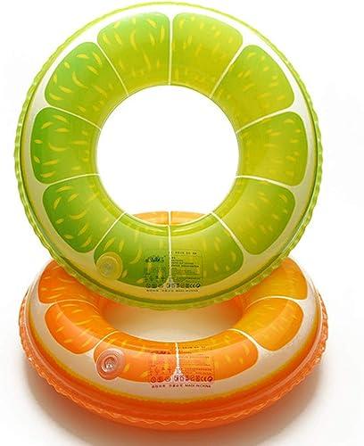 LPER Fruchtmuster-Schwimmenring, Der Erwachsene Jungen Und mädchen Niedlichen Orange Kreis-Rettungsring-Achselring Verdickt