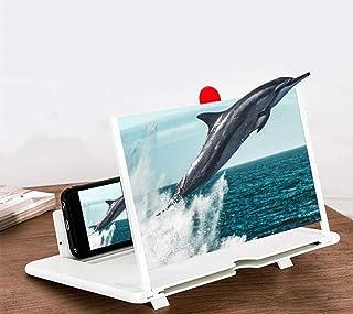 Goeco Lente d'Ingrandimento per Schermo del Telefono Cellulare 3D da 12 Pollici, Supporto per Amplificatore Video ad Alta ...