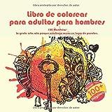 Libro de colorear para adultos para hombres 100 Mandalas - La gente esta sola porque construye muros en lugar de puentes.