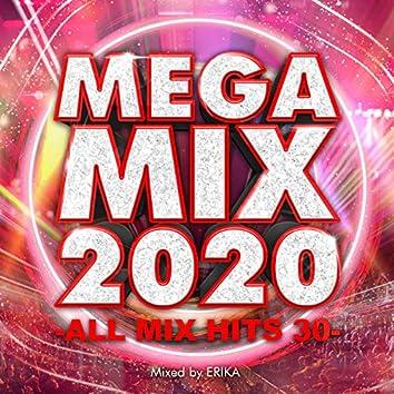 MEGA MIX 2020 -ALL MIX HITS 30- mixed by ERIKA