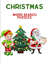 Christmas Word Search Puzzles: Word Search Christmas Puzzles for Kids