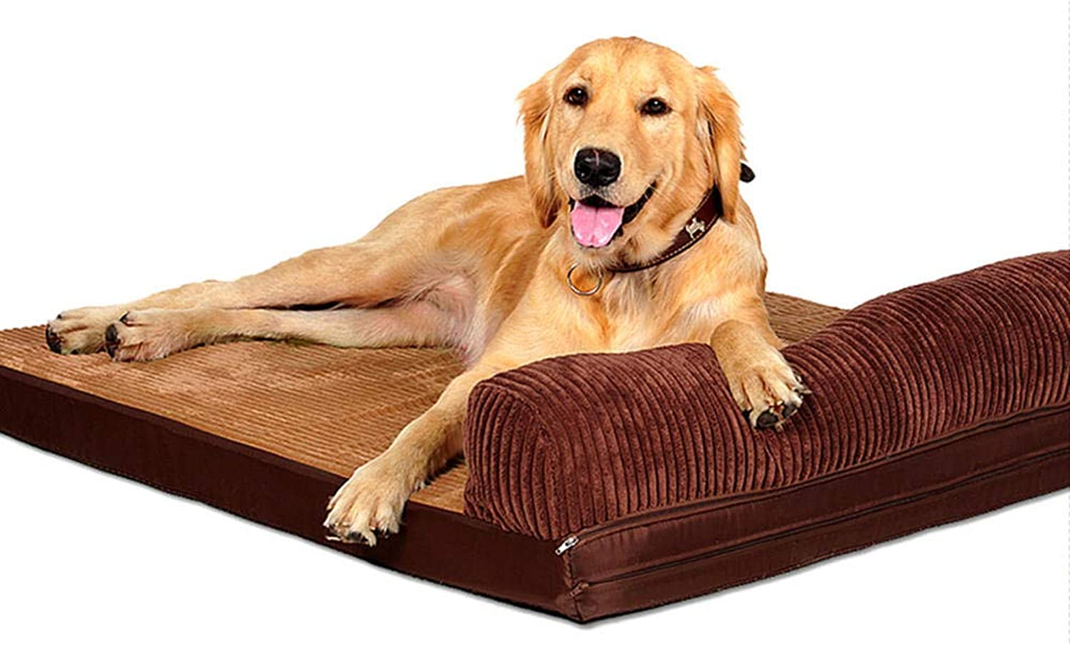 CHYLYM Warm cooling cat dog bed kennel cat litter removable dog mat large small medium large dog sofa brown singlesided