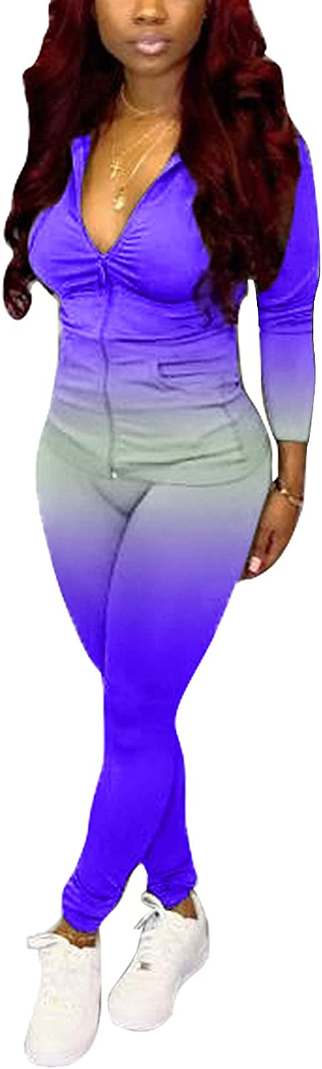 ECHOINE Womens Special price Tracksuits Set High quality new Two Piece Skinny Lon Top Outfits +