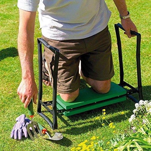 Parkland Folding Portable Garden Kneeler and Foam Chair Seat 2 In 1...