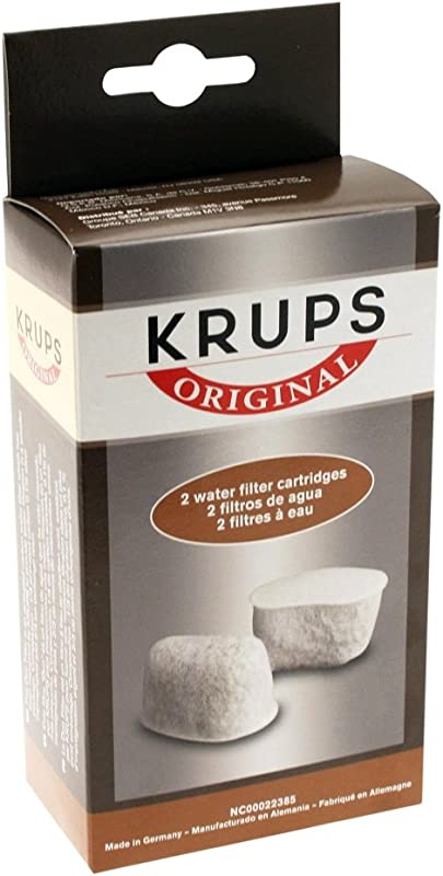 KRUPS 8000000302 Not Not Available F47200 Duo Filters Water Filtration System Coffee Makers Compatible With FMF FME 629 619 180 176 466 And 467 2 Pack
