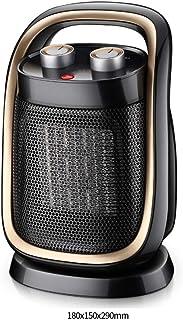 NFJ-LYR Ventiladores bajo Consumo,Calefactor Portátil,Termostato Regulable,Calefactor Ventilador,Protección sobrecalentamiento,Calefactor bajo Consumo electrico,2 Modos