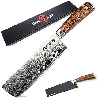 Haute qualité Damas Couteau de cuisine en acier VG10 Damas japonais Couteaux de cuisine Légumes Slicing Outils de cuisine ...