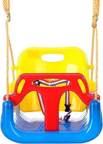 Maybesky Jouet éducatif Enfants Swing de plein air Swing Chaise Bébé Swing Cadeau d'anniversaire pour Filles Garçons