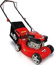 Grizzly Benzin Rasenmäher BRM 40-40 cm Schnittbreite, 4 Takt OHV Motor, (Basic – Red Edition)