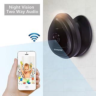 DMZOK WiFi Camera, Wireless Security IP Camera, Nanny Cam, HD 720P Home Security