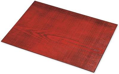 CtoC JAPAN Select ランチョンマット 赤 42x32x0.5cm プレート 尺4 ランチョンマット 長角 赤 CTCWK532R