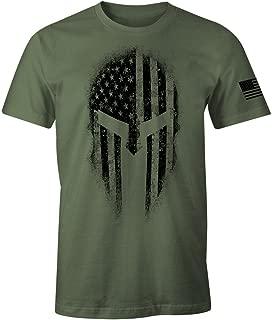 USA American Spartan Molon Labe Patriotic Men's T Shirt