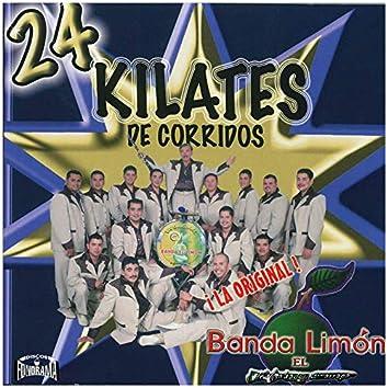 24 Kilates de Corridos