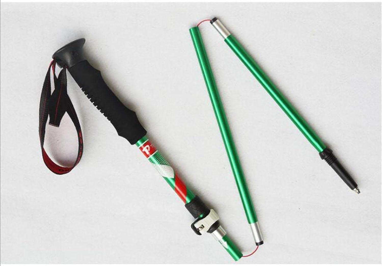 XUEXIN 2pcs Hiking poles ,Ultra-light Aluminum Collapsible Anti Shock Hiking   Walking   Trekking Trail Poles