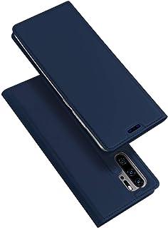 For Huawei P30 Pro DUX DUCIS Skin Pro Series Flip Leather Case Cover - Blue