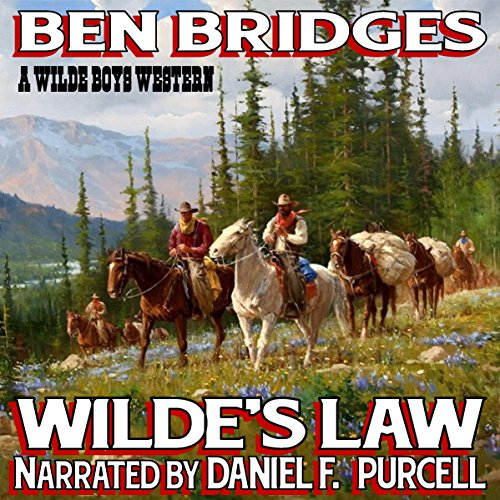 Wilde's Law     A Wilde Boys Western              By:                                                                                                                                 Ben Bridges                               Narrated by:                                                                                                                                 Daniel F. Purcell                      Length: 4 hrs and 14 mins     Not rated yet     Overall 0.0