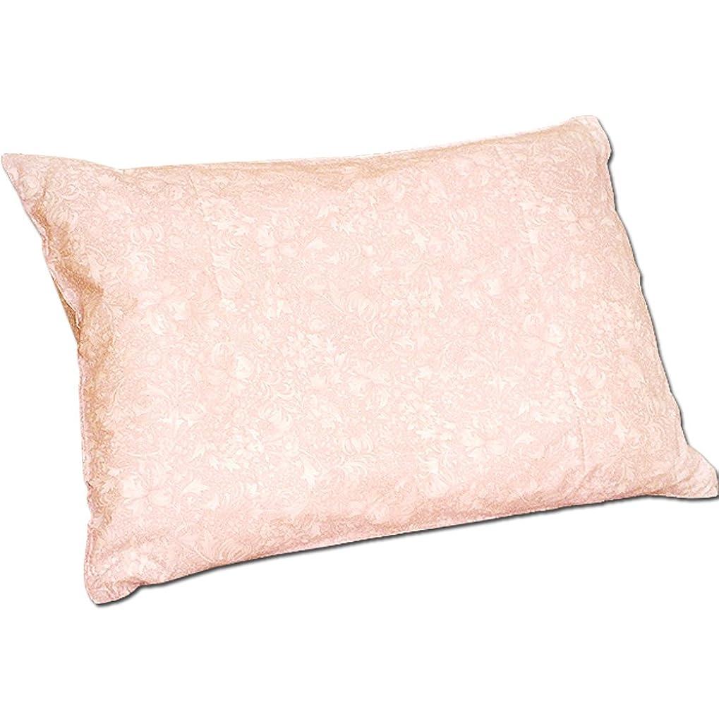 市場何かラベル日本製 小花 柄 高密度 防ダニ ピロケース 枕 カバー 『ナチュレ』 50×70cm ピンク