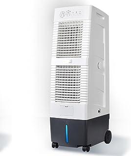 Ventiladores ZR- Refrigerador de Aire de Gran Volumen de Aire Ajuste de 3 velocidades Aire Acondicionado evaporativo enfriamiento de la Industria móvil del Restaurante 150W Fácil de m