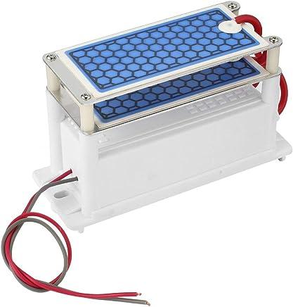 h Mini Generador de Ozono Integrado Placa de Cer/ámica M/áquina de Aire Ozonizador Hogar DIY Purificador de Aire Eliminaci/ón de Olores Funnyrunstore 220 V 3.5g Color: Blanco