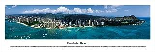 Honolulu, Hawaii - Unframed Blakeway Panoramas Print