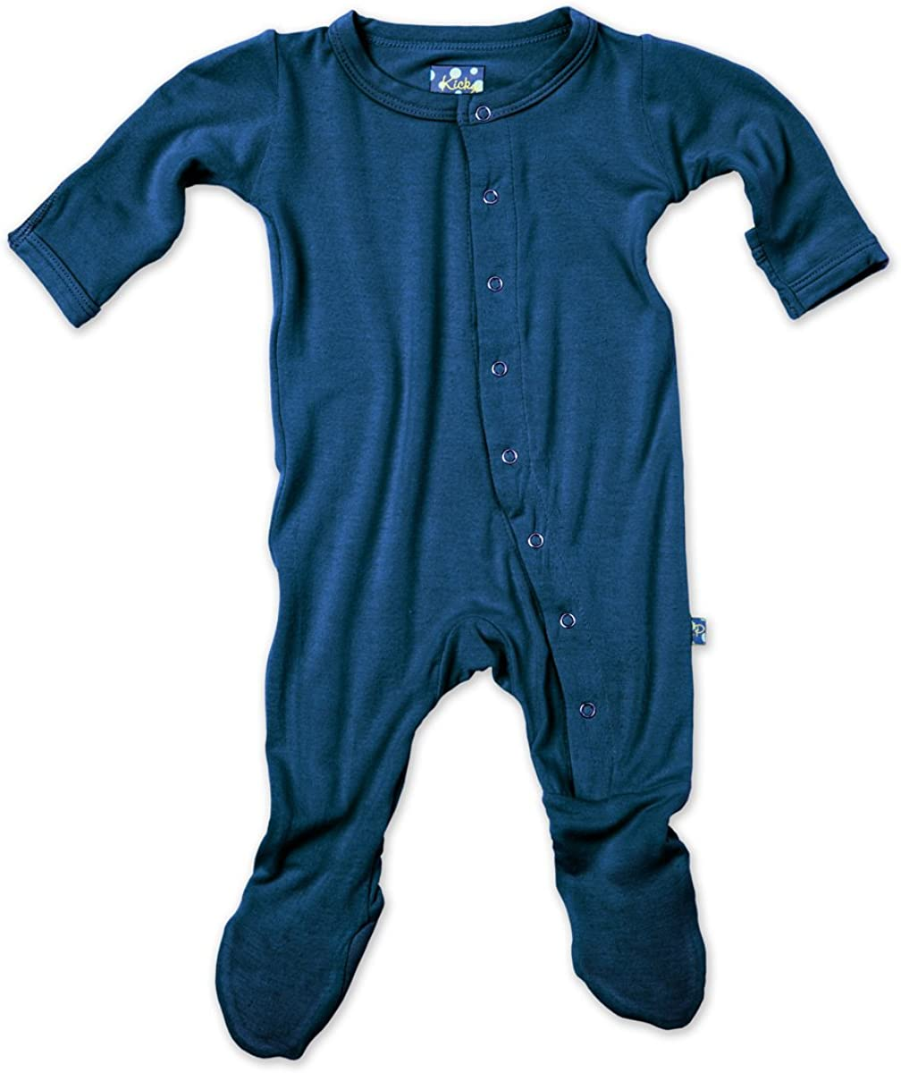 KicKee Pants Footie in SEAL limited product 2T Max 57% OFF Twilight