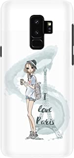 Stylizedd Samsung Galaxy S9 Plus Case Slim Snap Classic Series Customized Mobile Cover Hard PC Shield Matte Finish Print [...