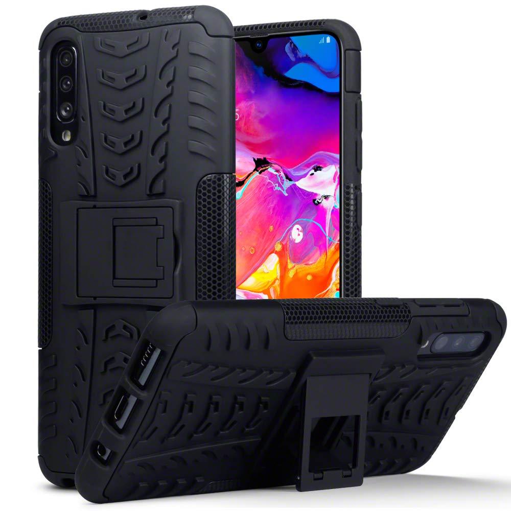 TERRAPIN Funda para Samsung Galaxy A70 Carcasa Híbrida de Doble ...